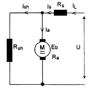 Gambar Rangkain Motor Kompon Pendek