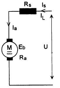 Gambar Rangkaian Motor Seri